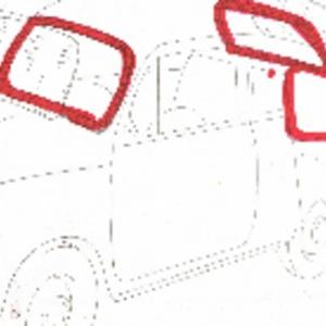 KIT DE GOMAS CRISTALES SEAT 600